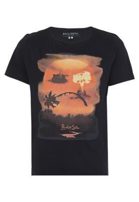Camiseta Billabong Fit Revel Preta
