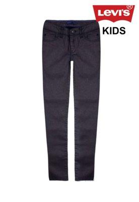Calça Jeans Levi's Kids Skinny Joelle Marrom