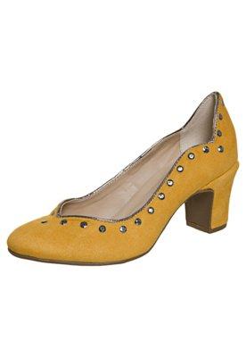 Sapato Scarpin FiveBlu Hotfix Amarelo