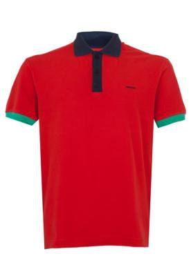 Camisa Polo Sommer Mini Brand Vermelha