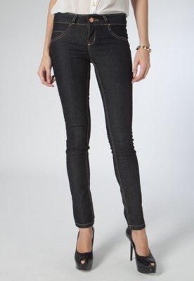 Calça Jeans Skinny Elise Preta - Pop Touch