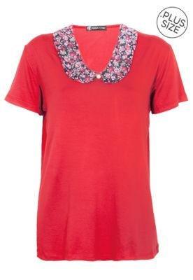 Blusa Anna Flynn Style Vermelha