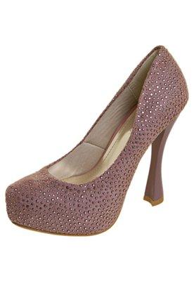 Sapato Scarpin NightStar Hotfix Rosa
