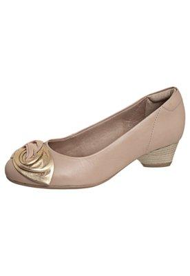 Sapato Scarpin Flor Nude - Dayflex