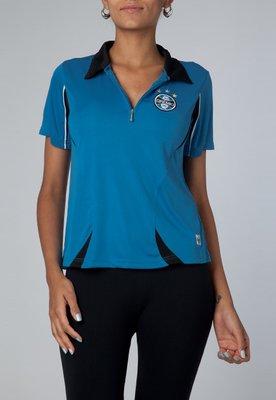 Camisa Polo Dry Grêmio II Azul - Licenciados Futebol