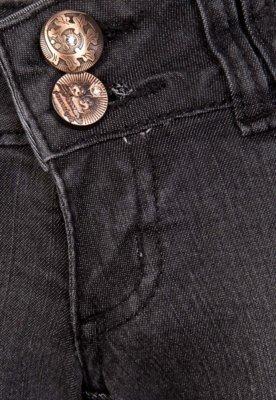 Calça Jeans Sawary Infantil Skinny Love Cinza