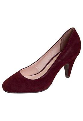 Sapato Scarpin Salto Médio Vinho - Bottero