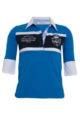 Camisa Polo Aleatory Original Azul
