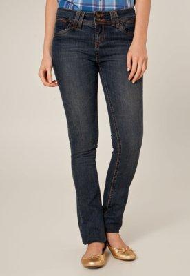 Calça Jeans Lee Slim Fit Bonny Vintage Azul