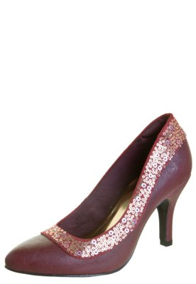 Sapato Scarpin Anna Flynn Glam Vinho