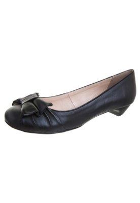 Sapato Scarpin Bottero Saltinho Laço Preto