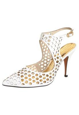 Sapato Scarpin Lança Perfume Melissa Branco