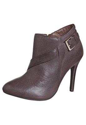 Ankle Boot Ramarim Fashion Marrom