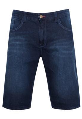 Bermuda Jeans Element  Walk Straight Dad Azul