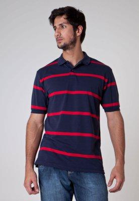 Camisa Polo Pier Nine Clean Azul
