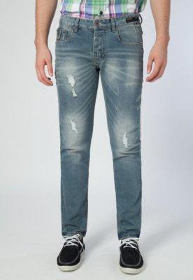 Calça Jeans Handbook Skinny Poltro Azul