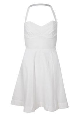 Vestido Shop 126 Recortes Off-white