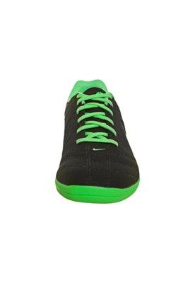 Chuteira Futsal Nike 5 Beco Preta/Verde