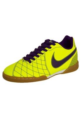 Chuteira Futsal Nike Jr Flare IC Amarela