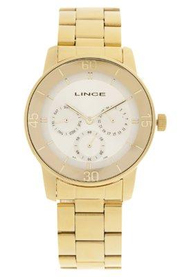 Relógio LMG4149LS1KX Dourado - Lince