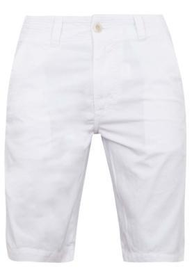 Bermuda Sarja Redley Pespontos Color Branca