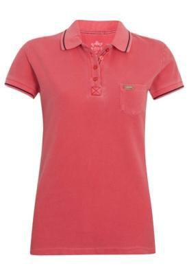 Camisa Polo Aleatory Bolso Vermelha