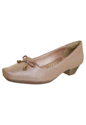 Sapato Scarpin Confortflex Lacinho Nude - Comfortflex