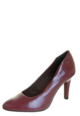 Sapato Scarpin Anna Flynn Classic Vinho