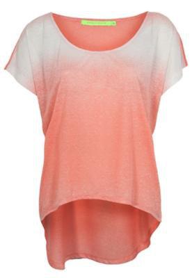 Blusa Espaço Fashion Traveti Rosa
