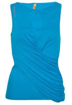 Blusa Coca Cola Slim Recorte Azul - Coca Cola Clothing