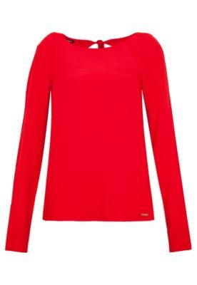 Blusa Colcci Comfort Vermelha