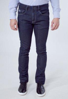 Calça Jeans Lacoste Skinny Low Azul