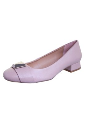 Sapato Scarpin Tabita Fivela Nude