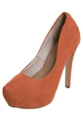 Sapato Scarpin FiveBlu Liso Laranja