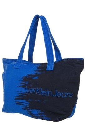 Bolsa Sacola Calvin Klein Azul