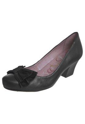 Sapato Scarpin Bottero Salto Baixo Preto