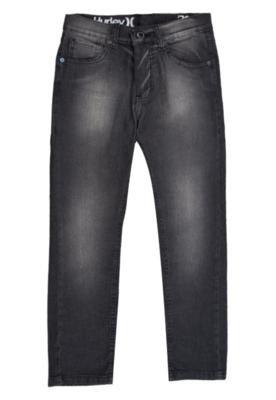 Calça Jeans Skinny Preta - Hurley