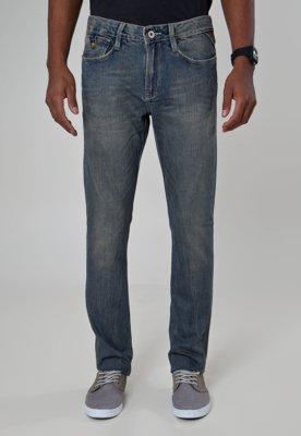 Calça Jeans Carmim Reta Modern Azul