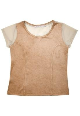 Blusa Básica Style Marrom  - Espaço Fashion