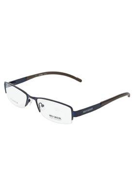 Óculos Receituário Harley Davidson 715041553NV Azul - Harl...