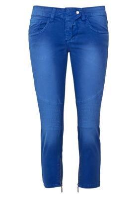 Calça Jeans Mares M&Guia Skinny Style Azul