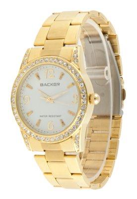 Relógio Backer W 3002145F Dourado