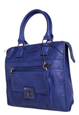 Bolsa Sacola Isabella Piu Unik Azul