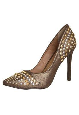 Sapato Scarpin FiveBlu Micro Dourado