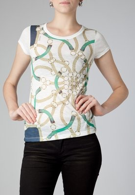 Blusa  Correntes Branca - Kodifik