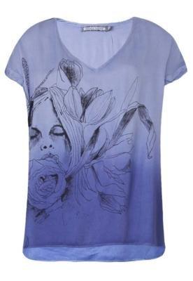 Blusa Fennefleur Roxa - Espaço Fashion