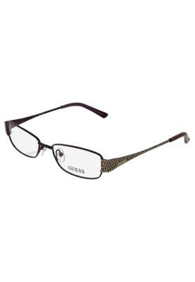 Óculos Receituário Guess Imprimer Roxo