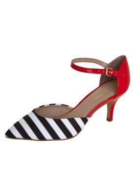 Sapato Scarpin FiveBlu Chavel Listrado