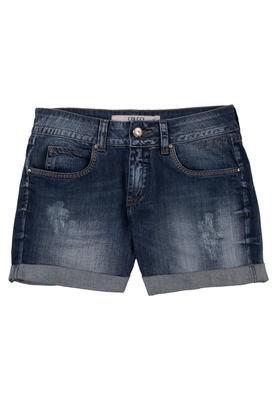 Bermuda Jeans Daria Puídos Azul - Colcci