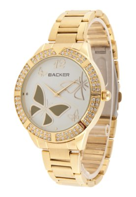 Relógio Backer 3056145F Dourado